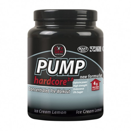 PUMP HARCORE  2.0    - 500g ICE CREAM LIMON