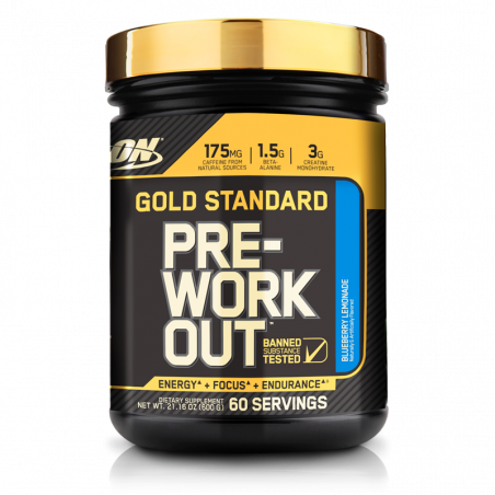 PRE WORK GOLD STANDAR 30 servicios 330g