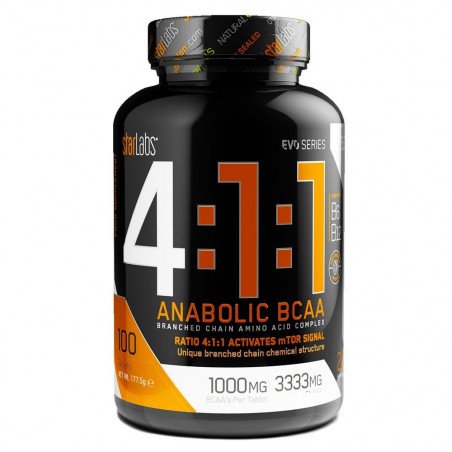 4:1:1 ANABOLIC BCAA -200 TB