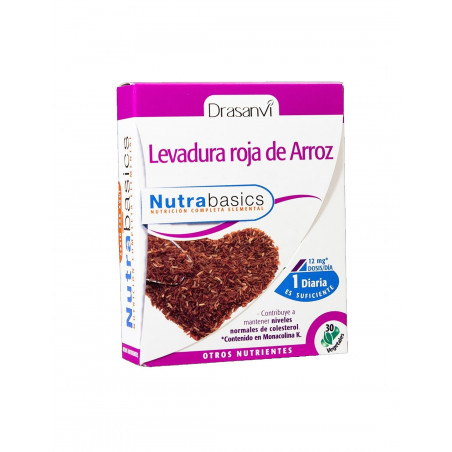 LEVADURA ROJA DE ARROZ 30 Compr