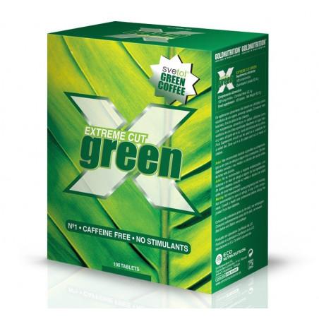 Extreme Cut Green - 100 comprimidos