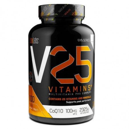 V25 100 capsulas vitaminas+