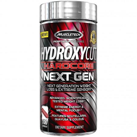 Hydroxycut Next Gen 100 ct No contiene YOHIMBE