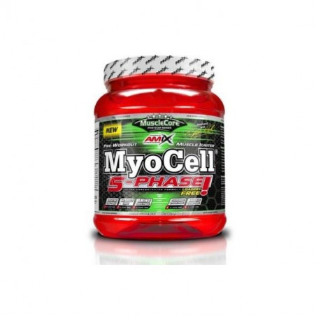 MYOCELL  5  PHASE 500 gr MUSCLECORE