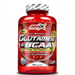 GLUTAMINA + BCAAS 360...