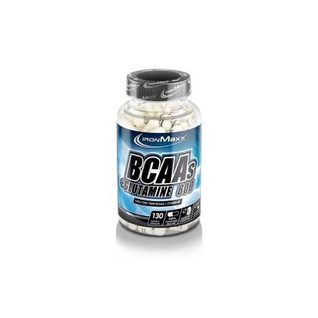 BCAAS+GLUTAMIN 800 130 cápsulas