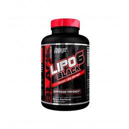 LIPO 6 BLACK 120 CAPS NUEVO