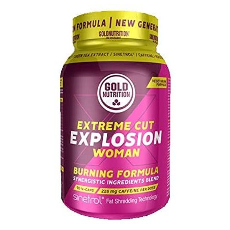 GOLD NUTRITION EXTREME CUT EXPLOSION WOMAN - 90 VCAPS